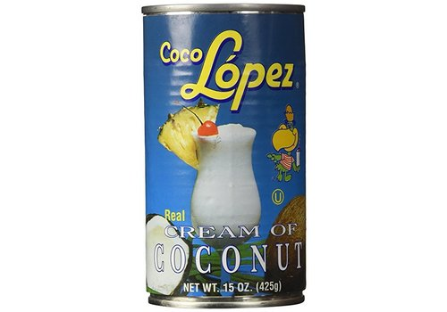 Coco Lopez Coconut Cream, 425g