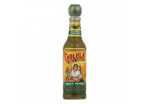 Cholula Green Pepper Hot Sauce, 150ml