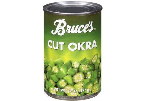 Bruce's Cut Okra, 397g