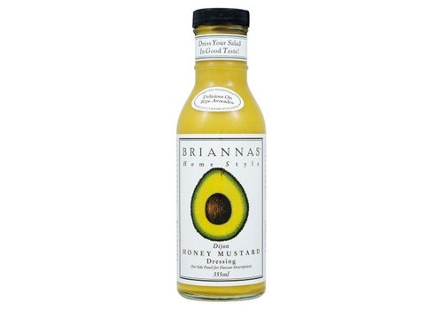 Brianna's Honey Mustard Dressing, 355ml