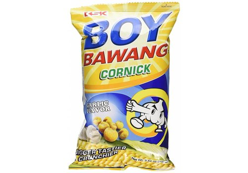 Boy Bawang Cornsnack with Garlic Flavour, 100g