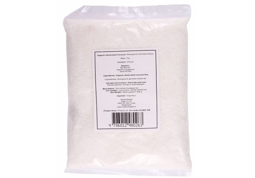 Organic Grated Coconut, 500g