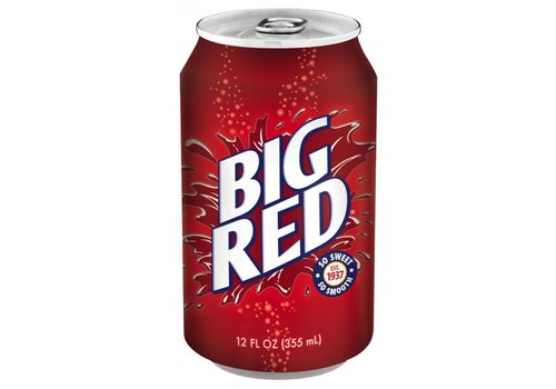 Big Red Soda, 355ml