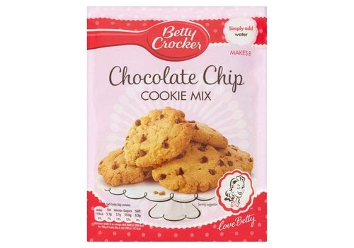 Betty Crocker Chocolate Chip Cookie Mix, 200g