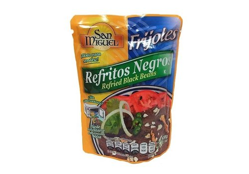 San Miguel Refried Black Beans, 430g