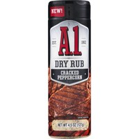 Dry Rub Cracked Pepper, 127g