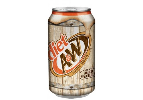 A&W Diet Root Beer, 355ml