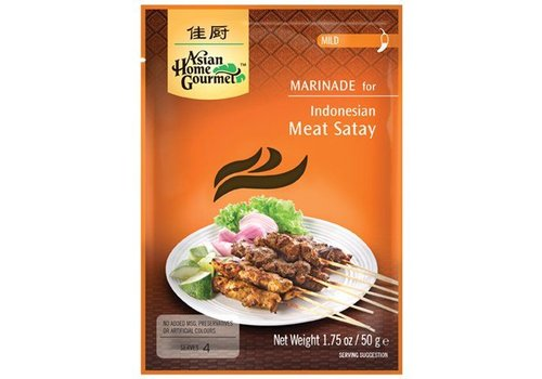 Asian Home Gourmet Meat Satay, 50g