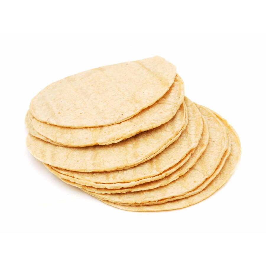Witte Mais Tortillas, 15st