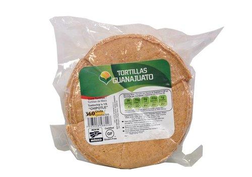 Guanajuato Tortillas Ongebakken Tortilla Chips met Chipotle, 500g