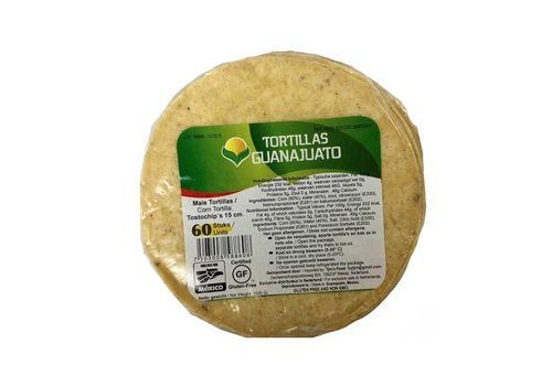Guanajuato Tortillas Tostadas, 60 stuks