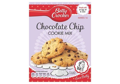 Betty Crocker Chocolate Chips Cookie Mix, 453g