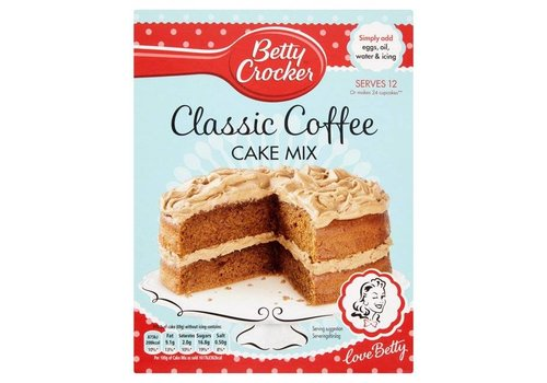 Betty Crocker Classic Coffee Cake Mix, 425g