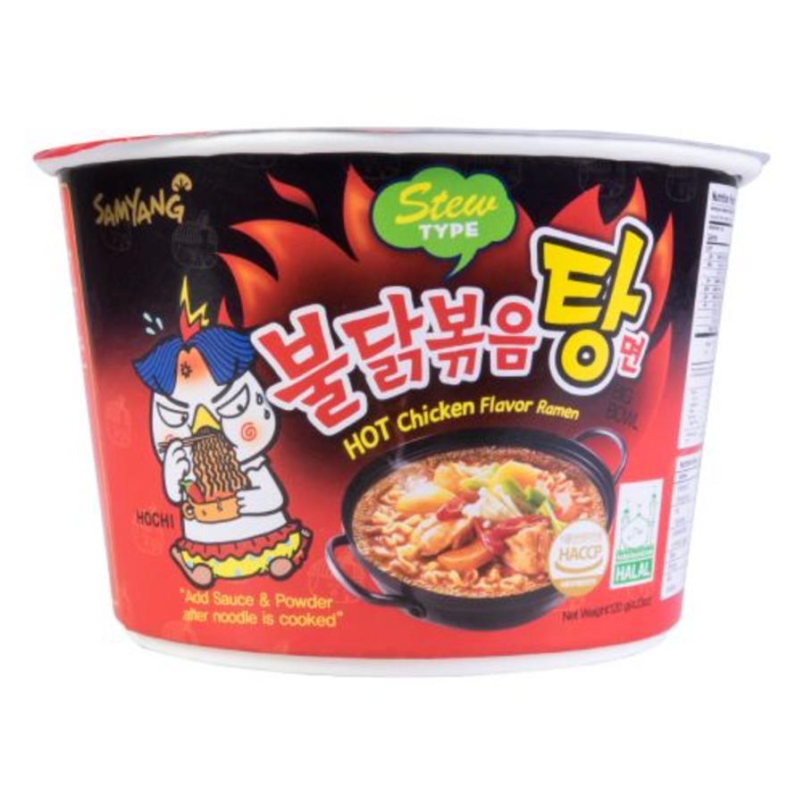 Stew Type Hot Chicken Ramen Bowl, 120g