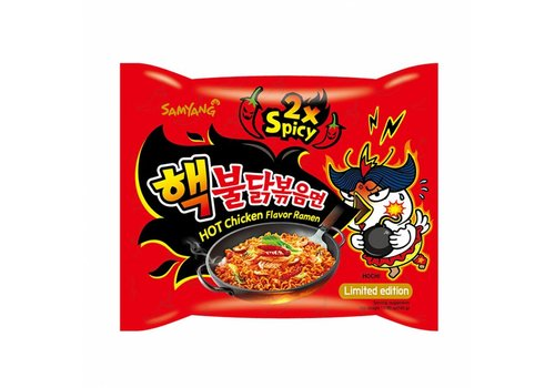 Samyang Hot Chicken Ramen 2x Spicy, 140g