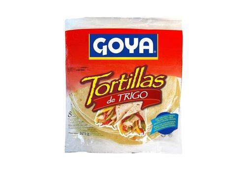 Goya Tarwe Tortillas, 8 stuks