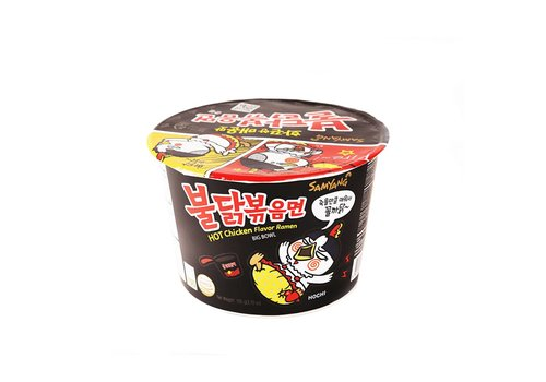 Samyang Big Bowl Hot Chicken Flavor Ramen, 105g