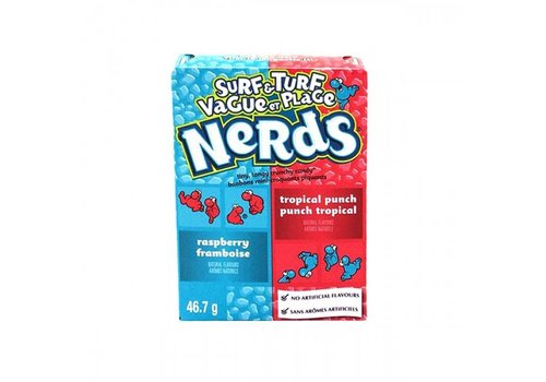Nestle Nerds Surf & Turf, 46.7g