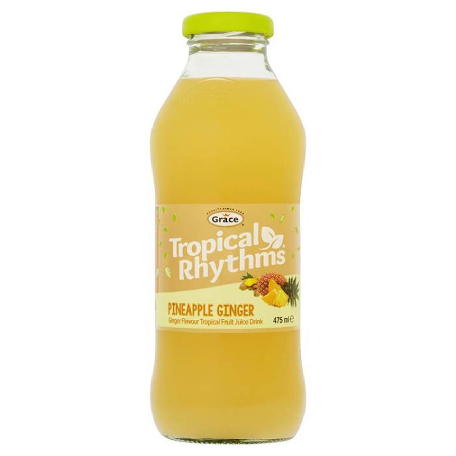 Pineapple Ginger drink, 475ml