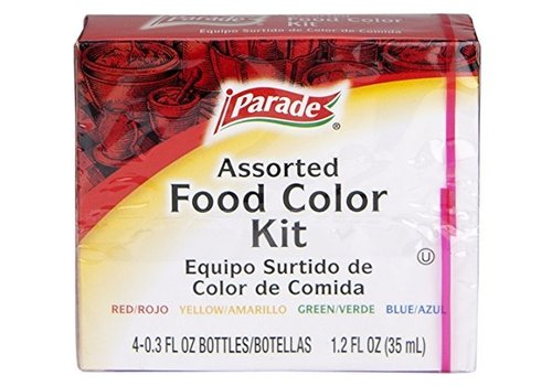 Parade Food Color Kit, 4x35ml