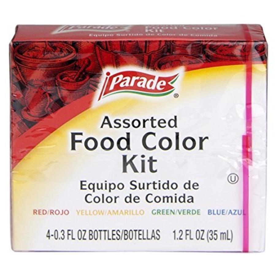 Food Color Kit, 4x35ml