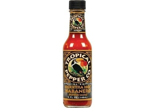 Tropical Pepper Co XXXXtra Hot Habanero, 148ml