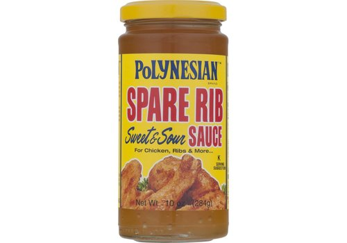 Polynesian Spare Rib Sauce, 284g