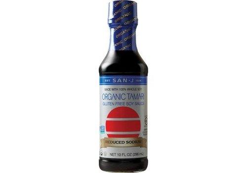 San-J Organic Tamari Reduced Sodium, 296ml