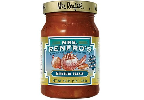 Mrs. Renfro's Medium Salsa, 454g