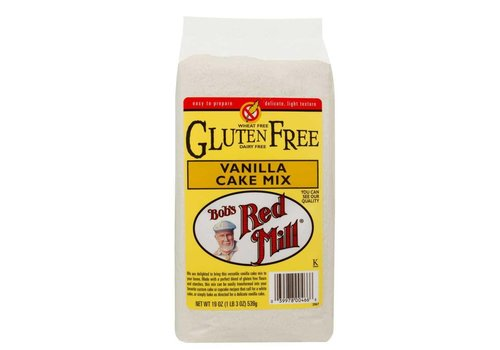Bob's Red Mill Gluten Free Vanilla Cake Mix, 539g