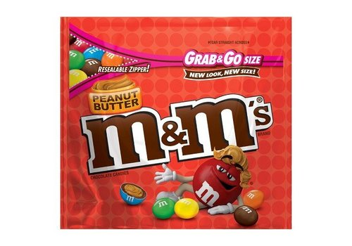 M&M Peanut Butter Grab & Go, 141g