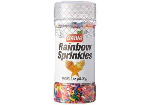 Badia Rainbow Sprinkles, 85g