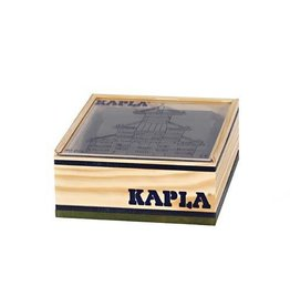 Kapla Kapla 40 donkergroene plankjes in kistje