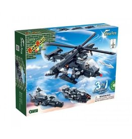 BanBao 8488 - Leger helikopter 3 in 1