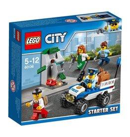 LEGO LEGO City 60136 - Politie Starterset