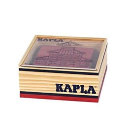 Kapla Kapla 40 rode plankjes in kistje