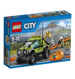 LEGO LEGO City 60121 - Vulkaan Onderzoekstruck