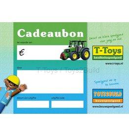 Cadeaubon t.w.v. €5,-