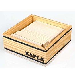 Kapla Kapla 40 witte plankjes in kistje