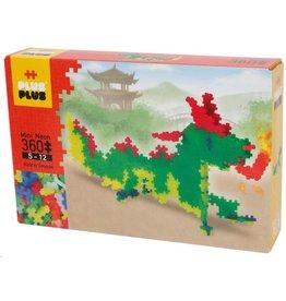 Plus-Plus Plus-Plus 3734 - Mini Neon Draak