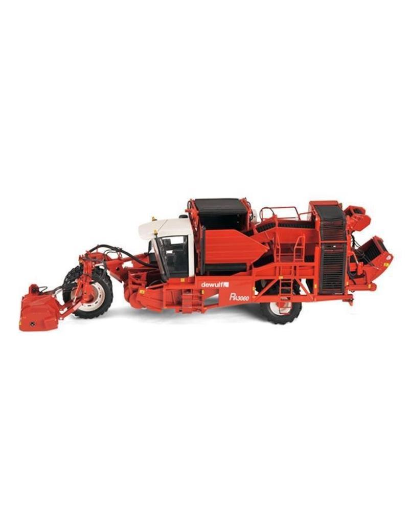 Ros Ros 60143 - Dewulf Ra3060 - 2 Rijige Zelfrijdende Bunker Aardappelrooier 1:32