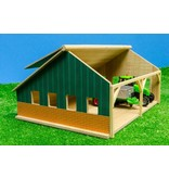Kids Globe Kids Globe 610048 - Traktorset met landbouwloods 1:50