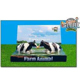 Kids Globe Kids Globe 571872 - Liggende koeien zwartbont (1:32 / Siku)