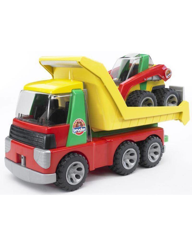 Bruder Bruder Roadmax 20070 - Transport auto met shovel
