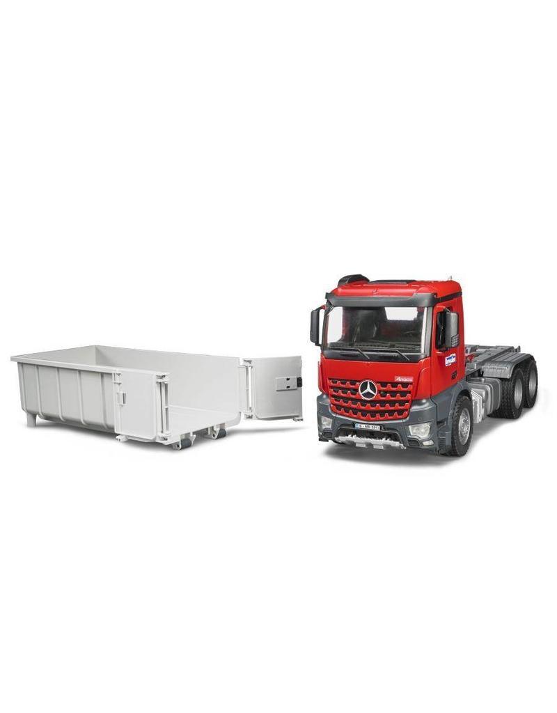 Bruder Bruder 3622 - MB Arocs vrachtwagen met afzetcontainer