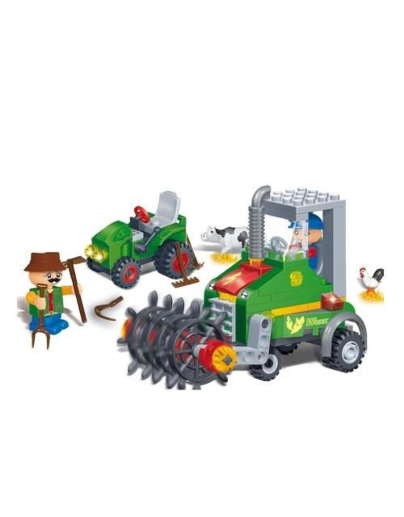 BanBao 8578 - Kleine oogstmachine