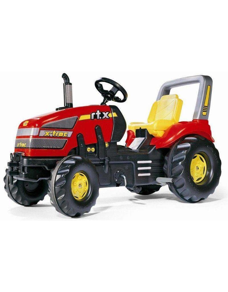 Rolly Toys Rolly Toys 035564 - X-Trac rood met 2 versnellingen en rem