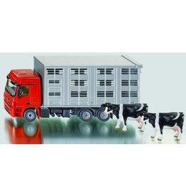 Siku Siku 2713 - Veeauto met koeien 1:50