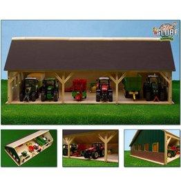 Kids Globe Kids Globe 610224 - Tractorloods voor 6 tractoren (1:32 / Siku)