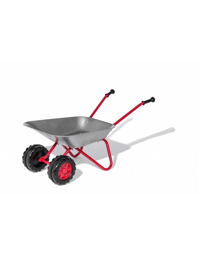 Rolly Toys Rolly Toys 271849 - Kruiwagen metaal met rood onderstel en 2 kunststof wielen